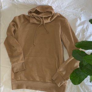 F21 funnel neck sweater